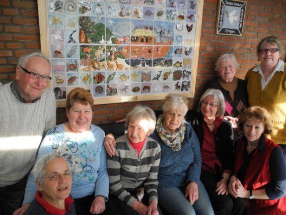 Töpfergruppe der Seniorenwerkstatt